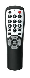 Clean Remote 7 in. Universal TV Remote CBR100B