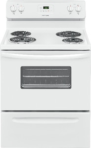 Frigidaire 46-5/8 x 29-7/8 in. 4.8 cf 2100W 4-Burner Freestanding Electric Range FFFEF3012T
