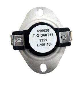 Supco 120/125/240V 250F Thermostat SL250