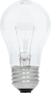 Sylvania 60W A15 Incandescent Light Bulb with Medium Base (Pack of 12) S10884