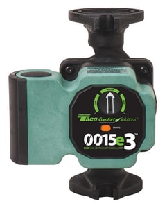 Taco 0015e3™ 16 gpm High Efficiency Taco Circulator Pump T0015E32F2
