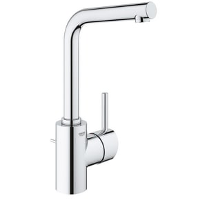 Grohe Concetto 1-Hole Centerset Lavatory Faucet with Single Lever Handle in Starlight Polished Chrome G23737001