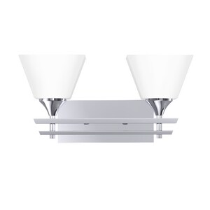 Park Harbor® McBryde 8-3/4 x 17-1/8 in. 100W 2-Light Medium E-26 Vanity Fixture PHVL2232