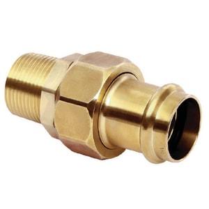 Mueller Industries Streamline® PRS™ Press x MNPT Copper Union MPF112