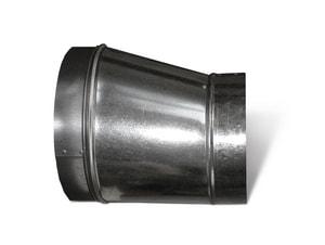 Lukjan Metal Products 26 ga Galvanized Spiral Duct Reducer SHMSPR10