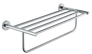 Grohe BauCosmopolitan 20-1/16 in. Multi-Towel Rack in Polished Chrome G40462001