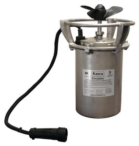 Kasco Marine Incorporated 240V 14 ga 40A Potable Water Tank Mixer with 50 ft. Cord K8400C61050 at Pollardwater