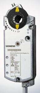 Siemens Building Technologies OpenAir™ GGD Series 3-3/8 in. 24V 20 lb-in. Die-Cast Aluminum Damper Actuator for Open Air GGD Electronic Damper Actuator SGGD2261U