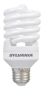 Sylvania 13W T2 Compact Fluorescent Light Bulb with Medium Base SYL26376