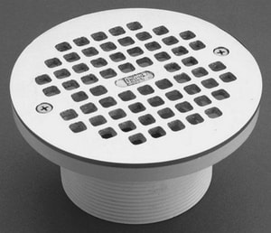 PROFLO® 4 in. Adjustable Drain with 6 Grate PF4284