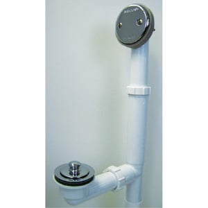 Watco Push Pull Bath Waste W500PPPVC