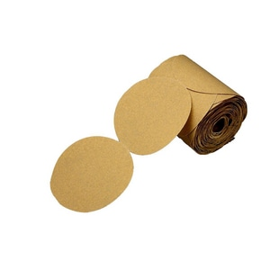 3M 5 in. Gold Paper Disc Roll 3M05113101622