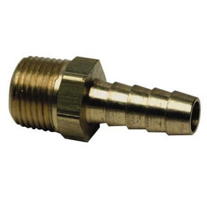 Brass Craft Hose Barb x MIP Brass Hose Adapter B125
