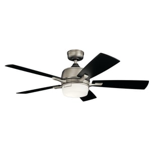 Kichler Lighting Leeds 70W 5-Blade Ceiling Fan with Integrated LED KK300457