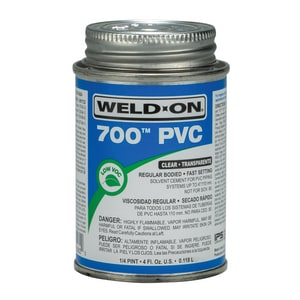 Weld-On PVC Medium Body Cement in Clear I10082