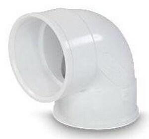 Hub Solvent Weld Plastic 90 Degree Elbow MUL04020