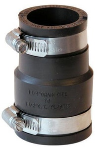 Fernco Cast Iron and Plastic Flexible Coupling F1056