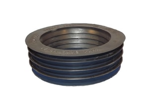 Fernco 4 x 4 in. Clay x Cast Iron Extra Heavy ABS PVC DWV Donut F490405