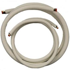 JMF EZ-Pull® 1/4 x 5/8 in. EZ Pull Insulation Copper Mini-Split Line Set JMLS145812