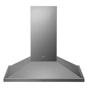 LG Electronics 36 in. 600 cfm 5-Speed Wall Mount Chimney Range Hood LGLSHD3689