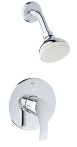 Grohe Eurosmart Pressure Balancing Valve Shower Combination G35014