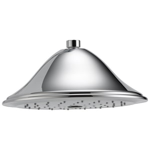 Brizo Traditional 4 x 9-3/8 in. 2.5 gpm Round Showerhead DRP5209025