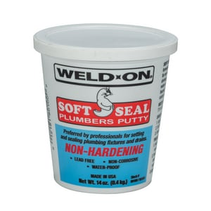 Weld-On Soft Seal Plumbers Putty I8010