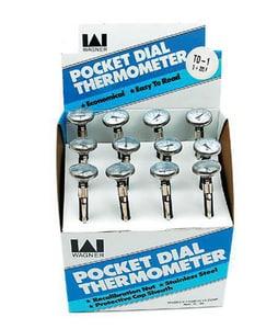 Diversitech 1 in. 40 - 160 Deg F Pocket Thermometer DIVTD2