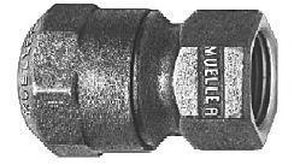 Mueller Industries CTS x FIP Brass Coupling MH15451