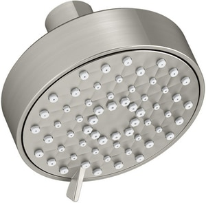 Kohler Awaken® 1.75 gpm 3-Function Wall Mount Wide Coverage, Intense Drenching and Targeted Spray Showerhead in Vibrant® Brushed Nickel K72418-G-BN