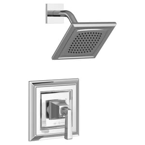 American Standard Town Square® S 1/2 in. NPT 1.8 gpm Shower Valve Trim Kit with Square Single Lever Handle AT455507