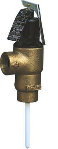 Cash Acme FVX Series Brass FNPT 150# 210 Relief Valve CFVX5