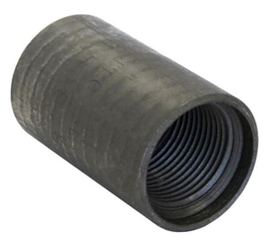 Threaded API Line Recovery Black Malleable Coupling BAPILRC