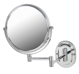Jerdon Style 8 x 12-1/2 in. Wall Mount 7X Magnifying Mirror JJP7507B