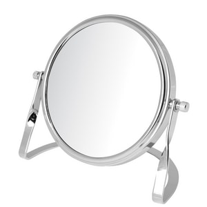 Jerdon Style 5-1/2 x 5-3/4 in. Freestanding Table Top 5X Magnifying Mirror JMC113