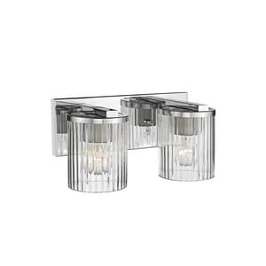 Millennium Lighting 14-1/2 x 6 in. 200W 2-Light Medium E-26 Incandescent Vanity Fixture M232