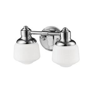 Millennium Lighting 14 x 7 in. 120W 2-Light Medium E-26 Vanity Fixture M2302