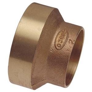 Nibco FTG x Copper Cast Bronze DWV Flush Bushing CCDWVFCFLB