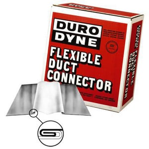 Duro Dyne National 24 ga MFN4-100 Neoprene Flexible Duct Connectors D10003