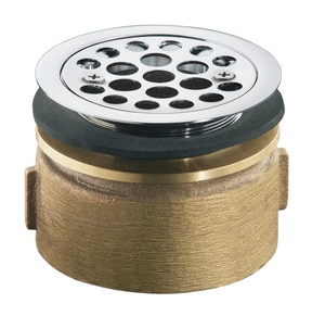 Kohler Service Sink Strainer Tapped for 2 in. NPT K9142-CP