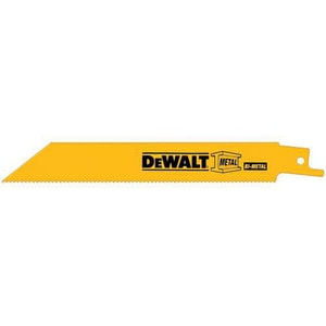 Dewalt 14 TPI Bi-Metal Reciprocating Saw Blade DDW48B