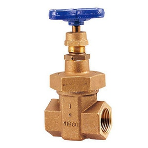 Nibco 300# Bronze Threaded Non-Rising Stem Union Bonnet Gate Valve NT176A