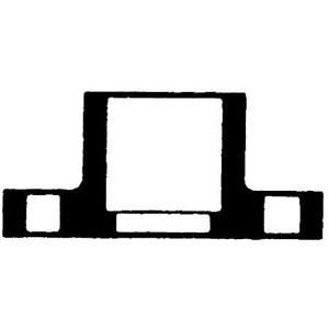 Chemtrol Socket Weld Schedule 80 Heavy Duty PVC Flange C4551H