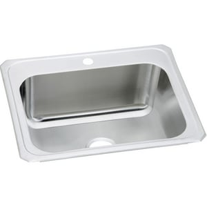 Elkay Gourmet Celebrity® 25 x 22 in. Single Bowl Top Mount Sink EDCR252210