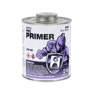 Hercules Chemical 1 qt PVC Primer in Purple H60490