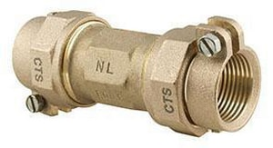 Ford Meter Box CTS Compression Brass Coupling FC44