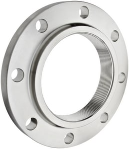 Threaded Lap Joint 150# 304L Stainless Steel Raised Face Flange IS4LRFTF