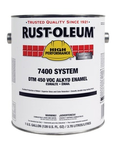 Rust-oleum 1 gal. Enamel in High Gloss Safety Yellow R944402