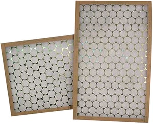 Glasfloss Industries 12 x 12 x 1 in. Fiberglass Air Filter GGTA121