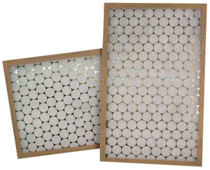 Glasfloss Industries 20 x 20 x 1 in. Fiberglass Air Filter GGTA201